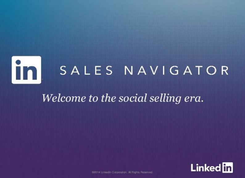Włącz Sales Navigatora