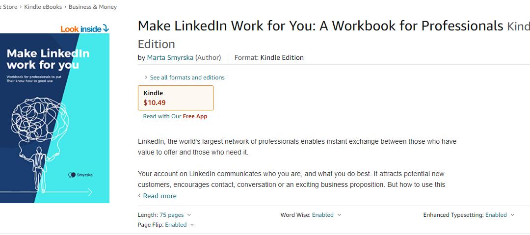 Sprzedaż e-booka naAmazon – krok pokroku